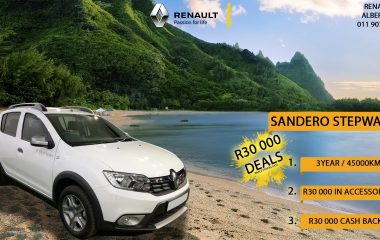 2020 Renault Sandero 66KW Turbo Stepway Expression